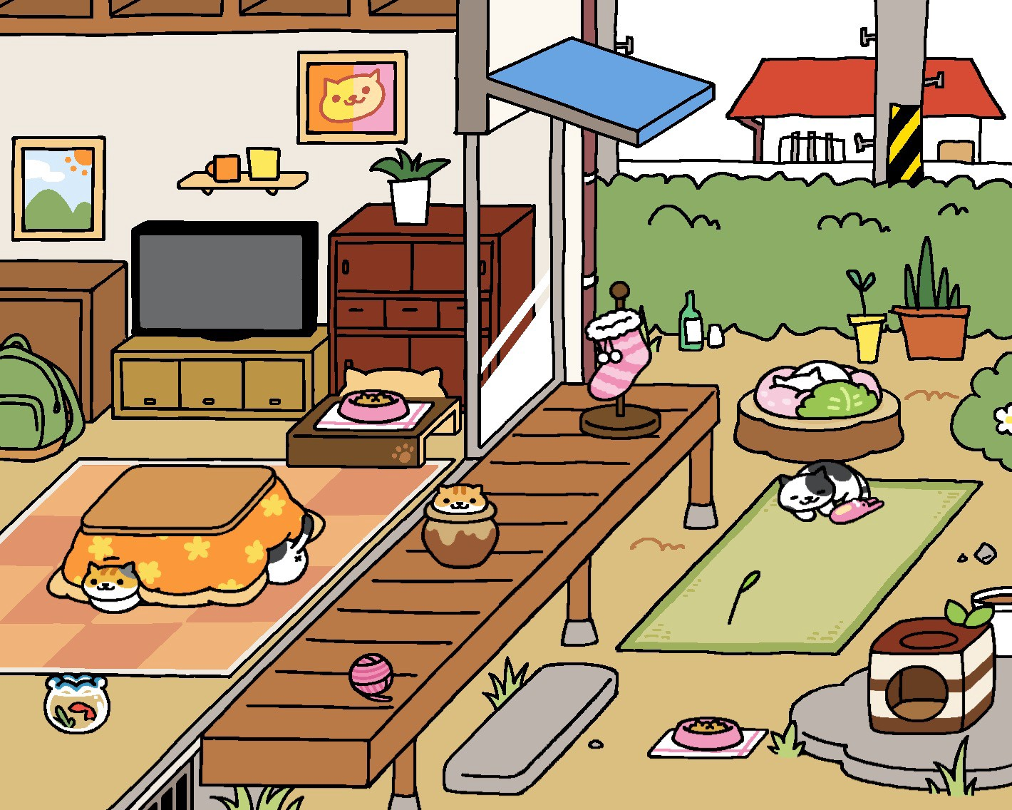 Neko Atsume Review. The best game to be addicted to | by Alice Wang | Medium
