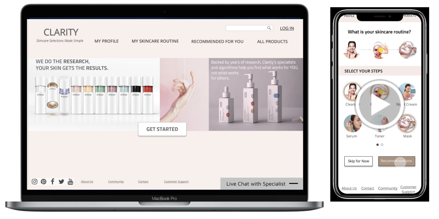 Ux Case Study Skincare Selections Made Simple By Soojin Sielle Kim Medium