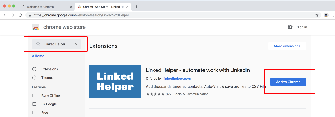 The easiest way to create a new Chrome Instance to manage