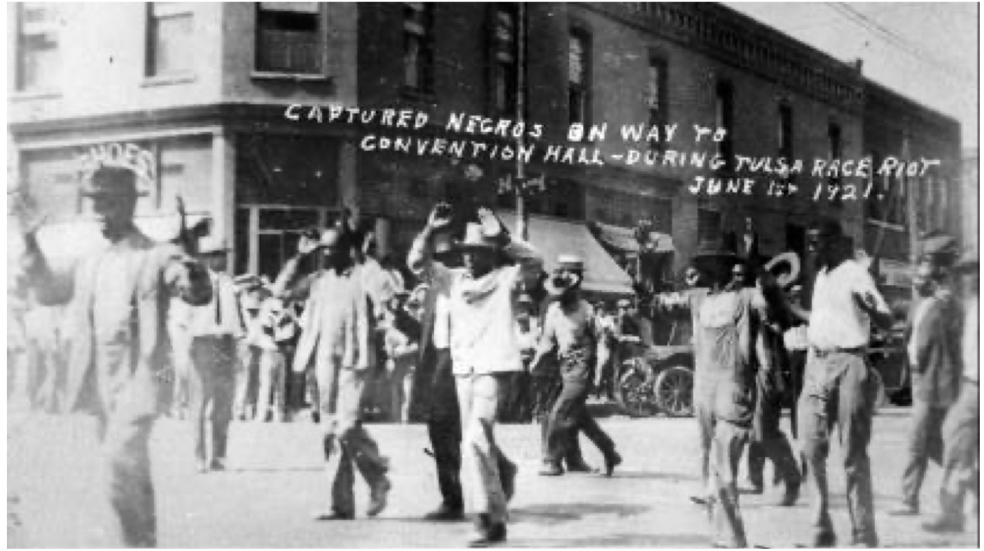 As the riot wore on, African-American families frequently became separated, as black men were often the first to be led away at gunpoint. For many black Tulsans, it was hours—and, in some cases, much longer—before they learned the fate of their loved ones
