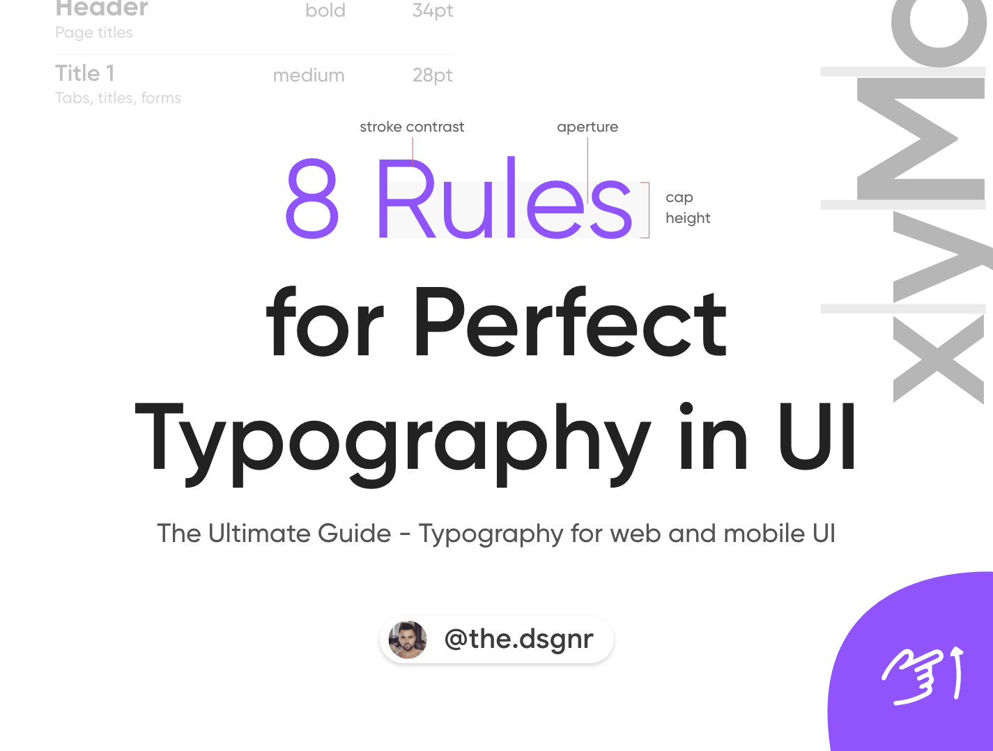 8 Rules For Perfect Typography In Ui By Dorjan Vulaj Prototypr