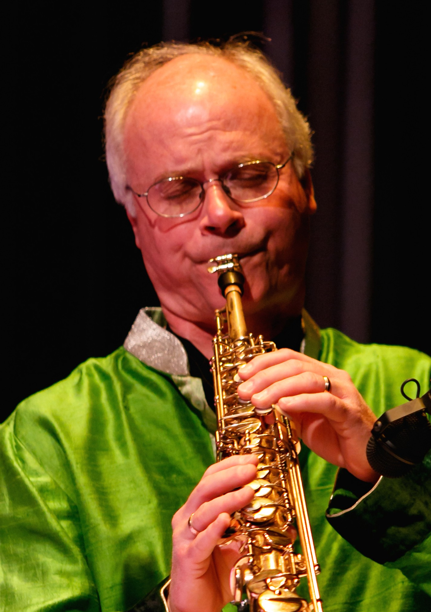 Ragas on Saxophone is a tribute to North Indian classical music