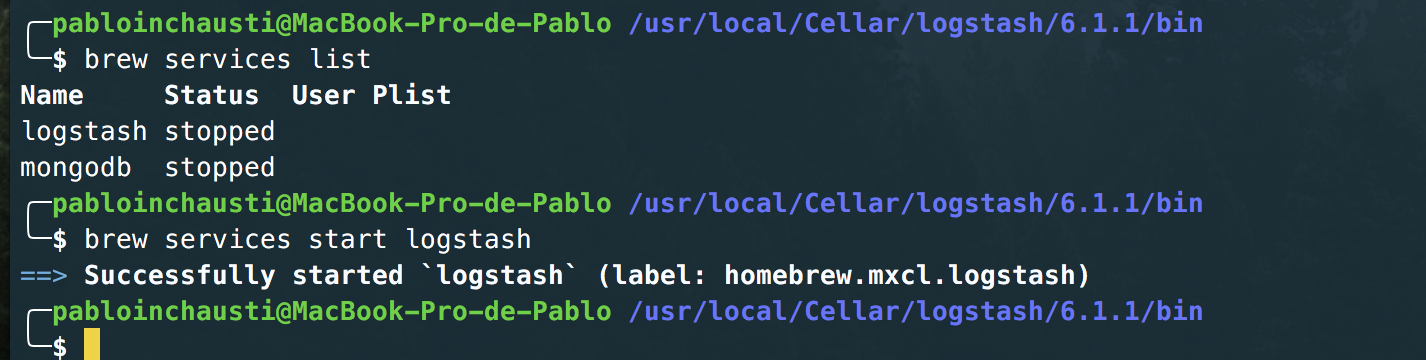 Installing ELK Stack on OSX - Pablo Ezequiel - Medium