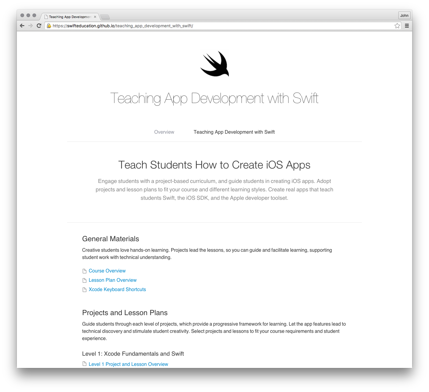 Apple has published a great free learn to code course for