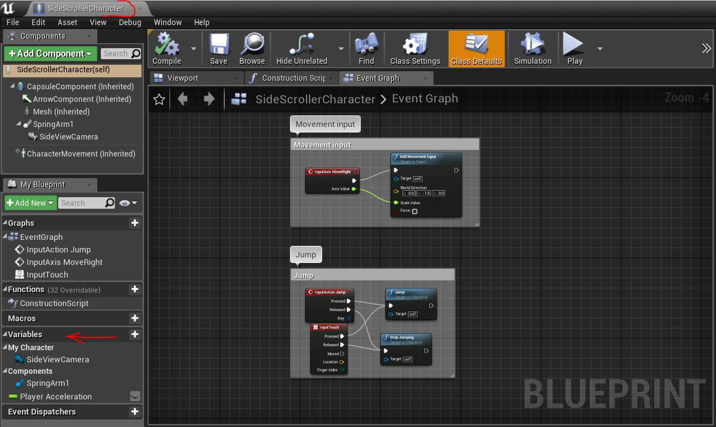 Creating a side-scroller mobile game with Unreal Engine 4