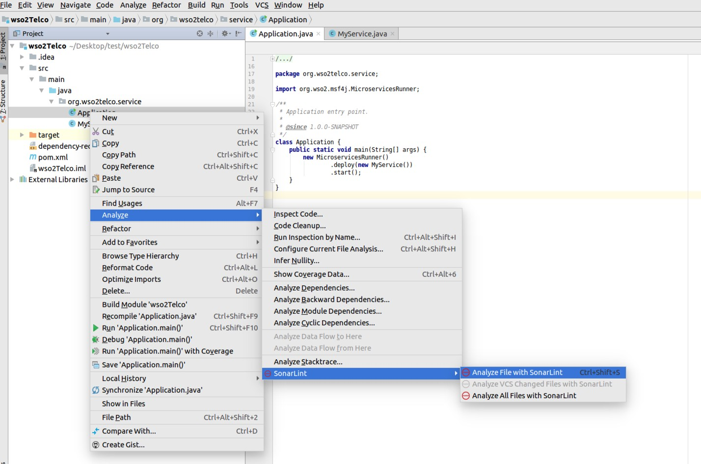 Improve your code quality by using SonarLint in IntelliJ IDEA