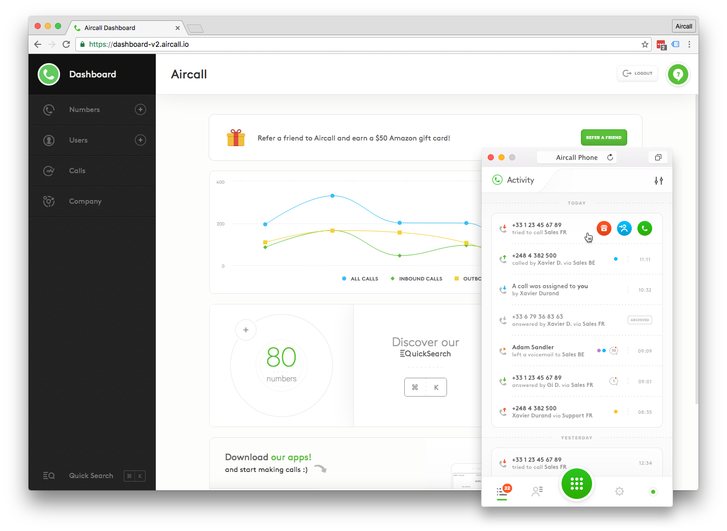 Aircall inside aircall's powerful and complex front end apps
