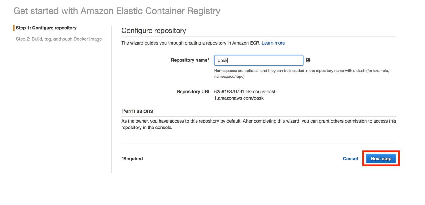 Distributed Data Pre-processing using Dask, Amazon ECS and