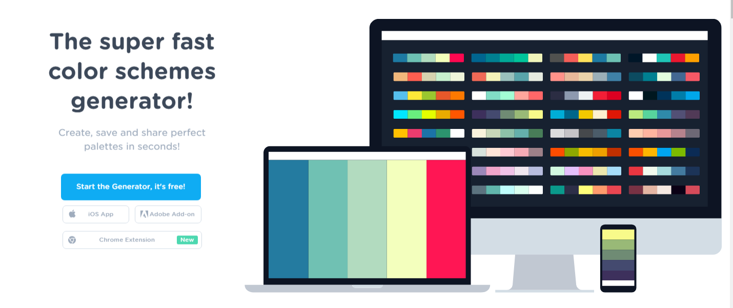 Color Scheme Designer how do you pick the right color palette? - zipboard
