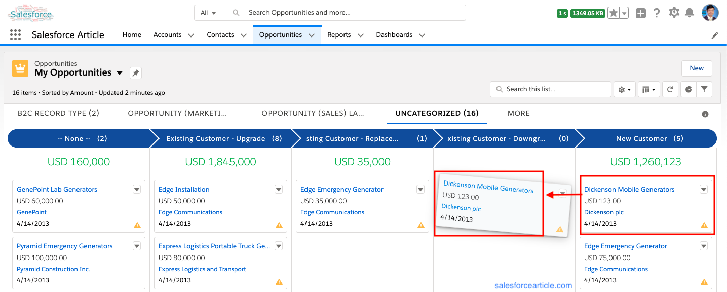 How to Create Kanban in View Lightning Experience? - Divyesh