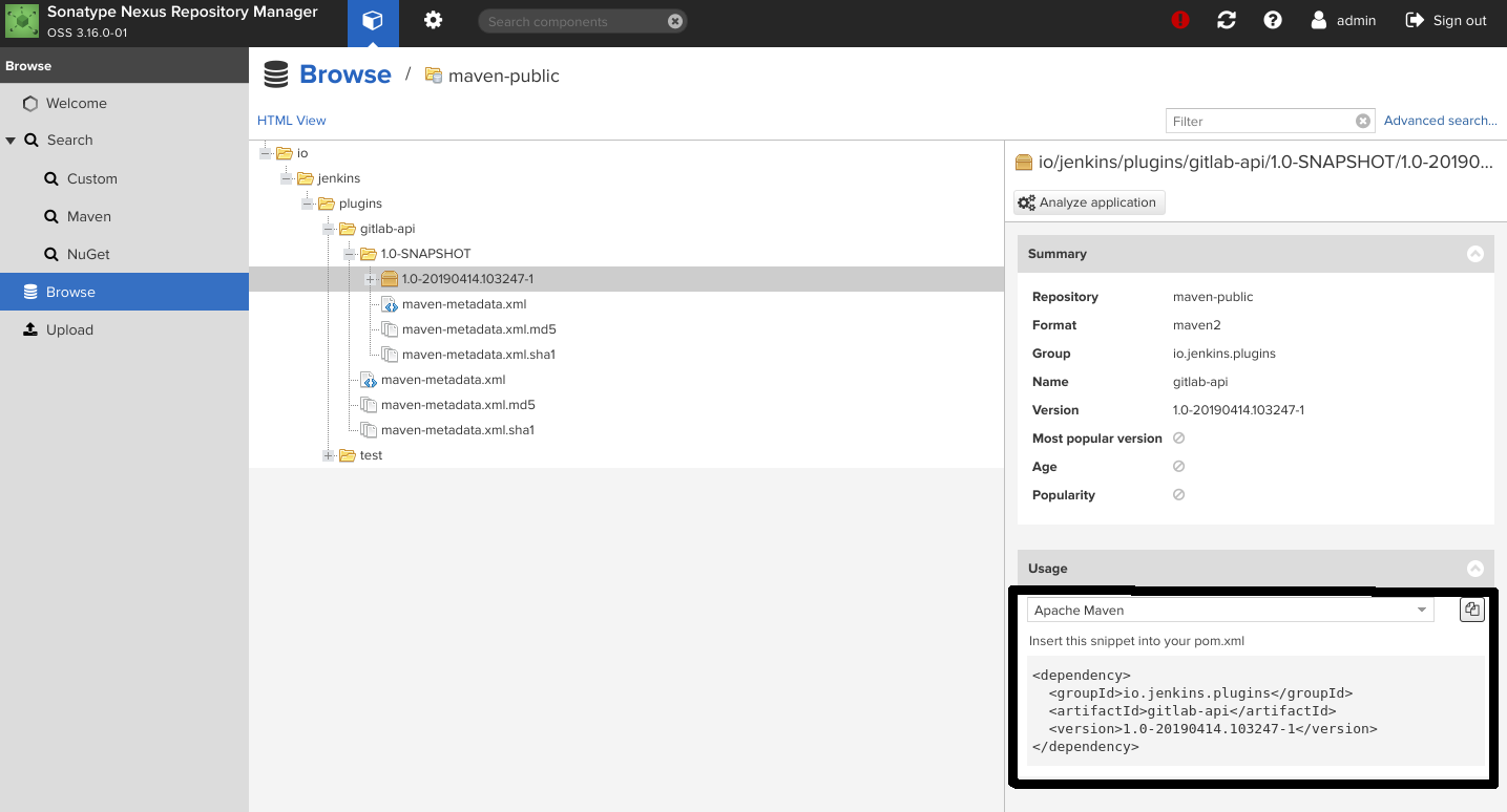Setting up Nexus Repository Manager for Jenkins Plugin
