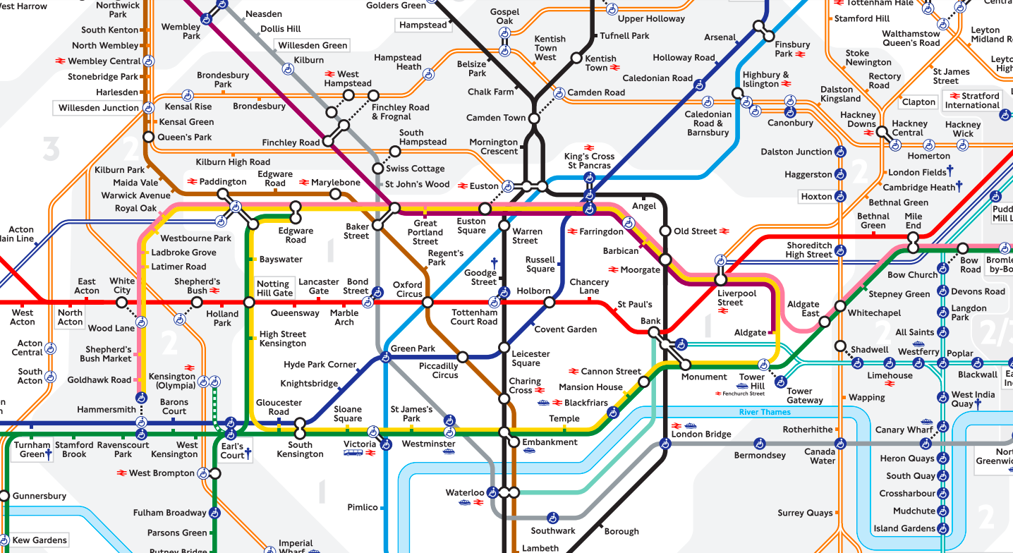 Transport For London Map.What Makes A Map Good Modus