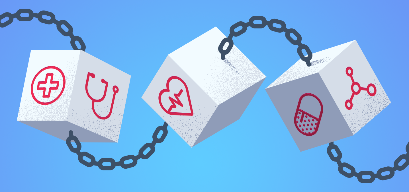 Blockchain and Healthcare. The Healthcare sector has been a… | by Arun Penmetsa | Storm Ventures