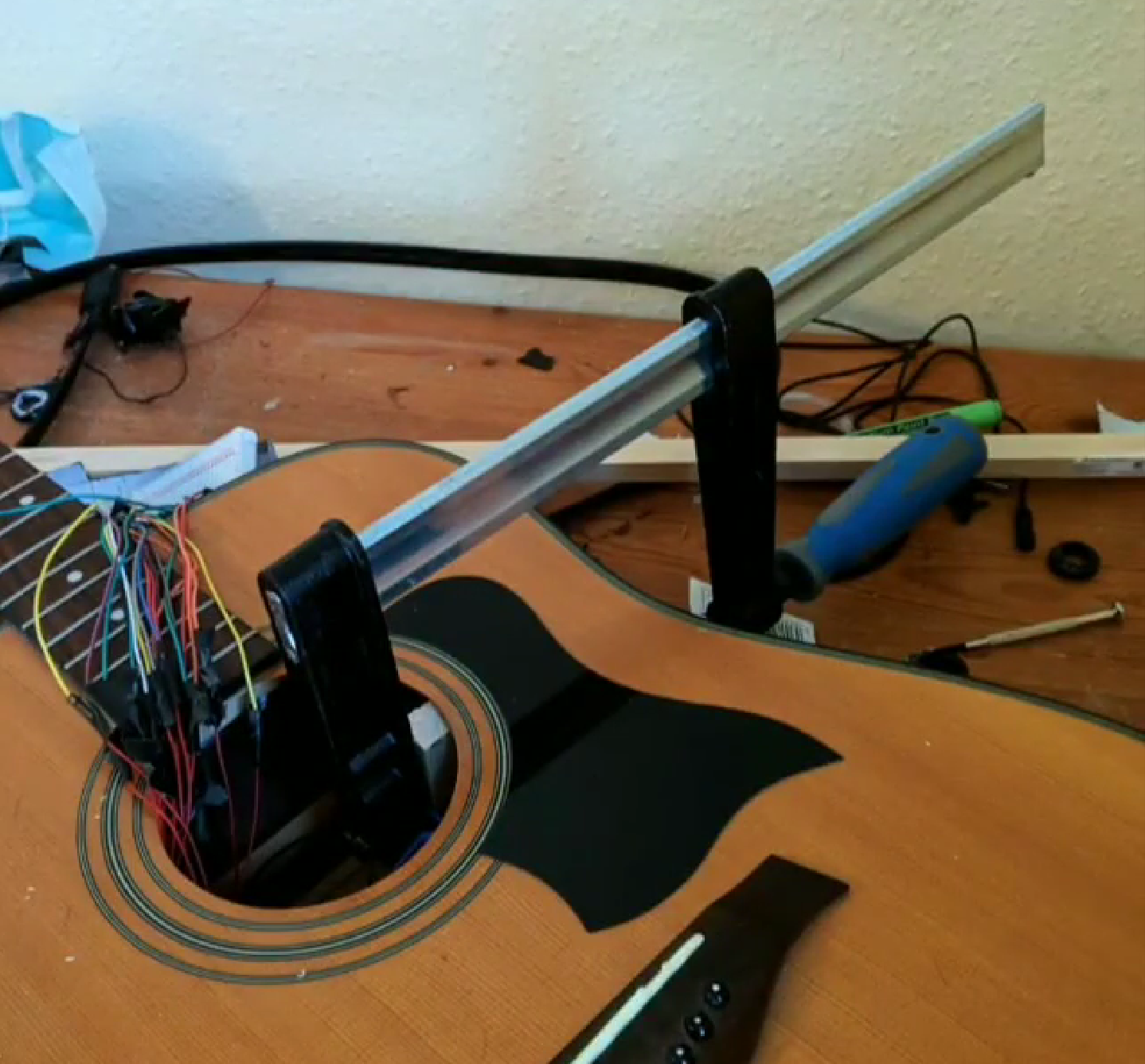 Chord Assist: Building an accessible smart guitar for the