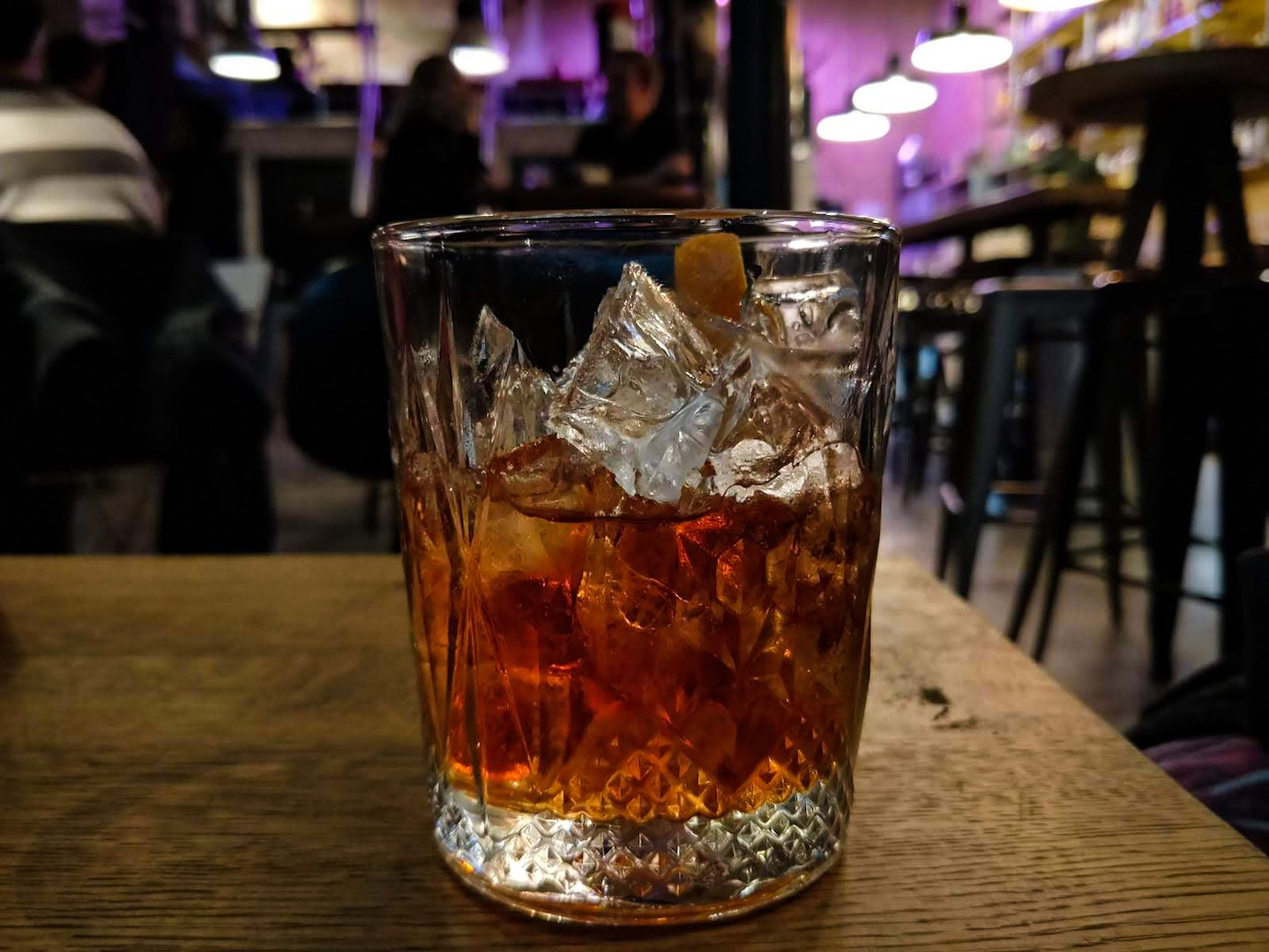 Negroni at Cin Cin