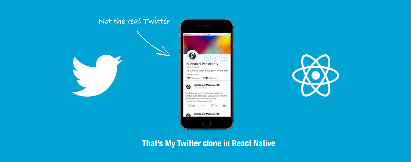 Building a Twitter Clone App in React Native - The GeekyAnts Blog