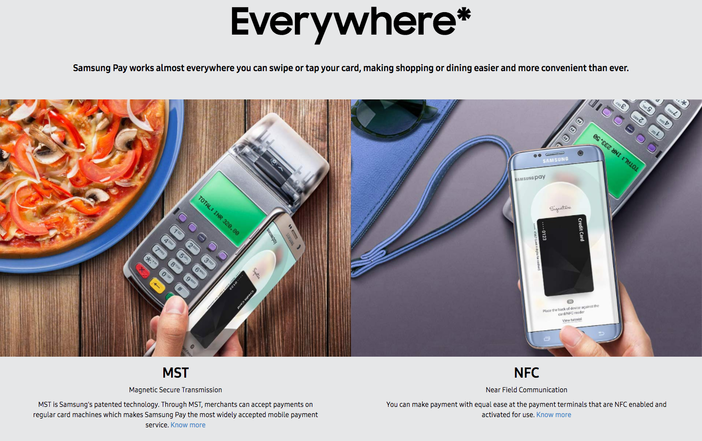 How Samsung Pay works in India, a country with 2FA?