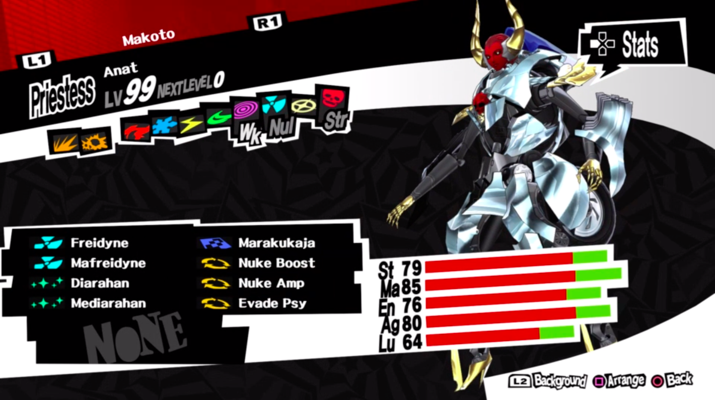 Ultimate Persona Team Persona 5 Builds By Bainz Medium Your best chance to encounter crystal skull is to reload for a mara encounters where one of the slimes is replaced with a crystal skull. ultimate persona team persona 5 builds
