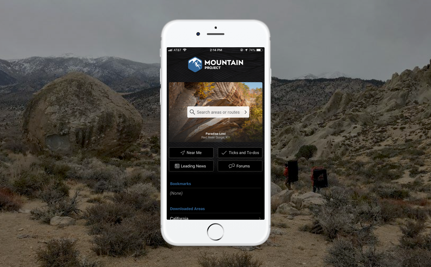Reaching new heights in usability with Mountain Project