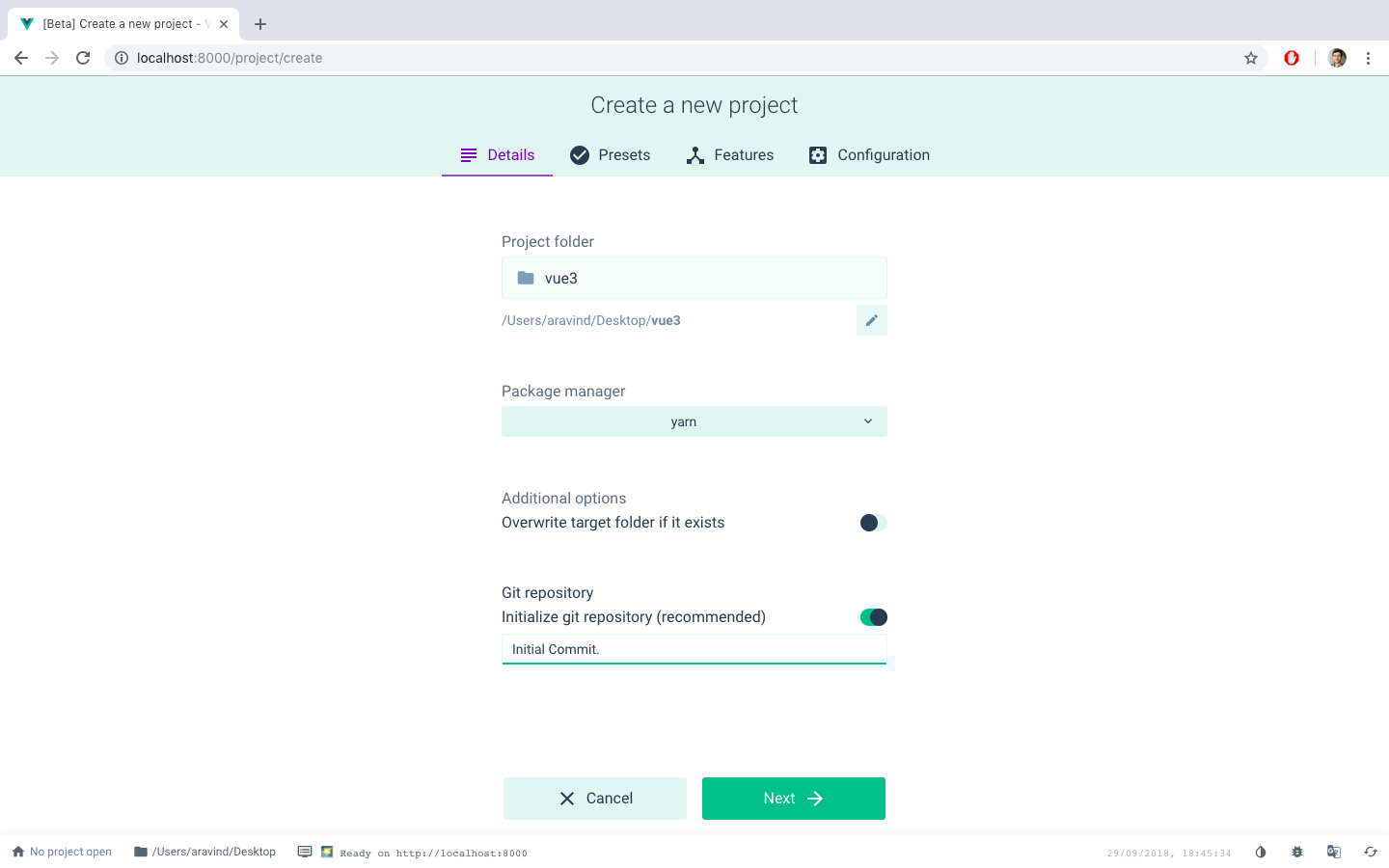 Uikit with VueJS — Vue cli 3 - Lab 315 A