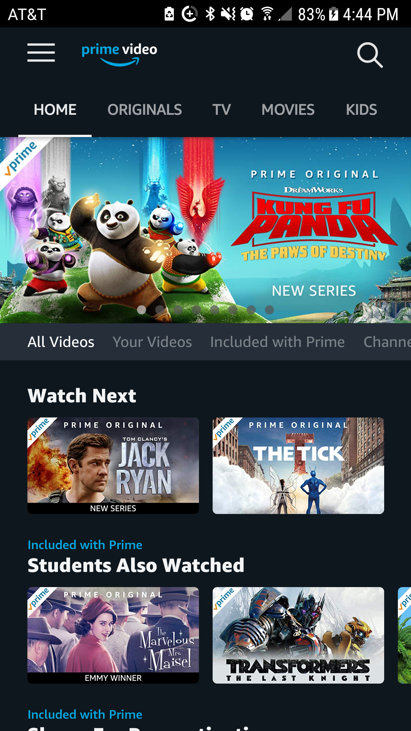 UX 1 Final: A Case Study of the Amazon Prime Video App