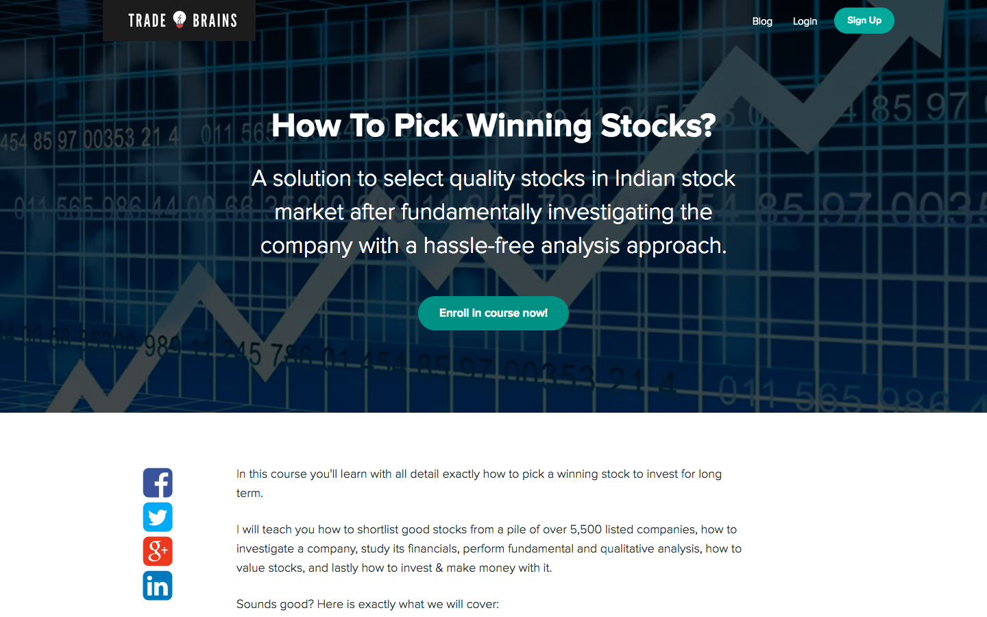 Best Stock Market Courses in India to Start Your Investing