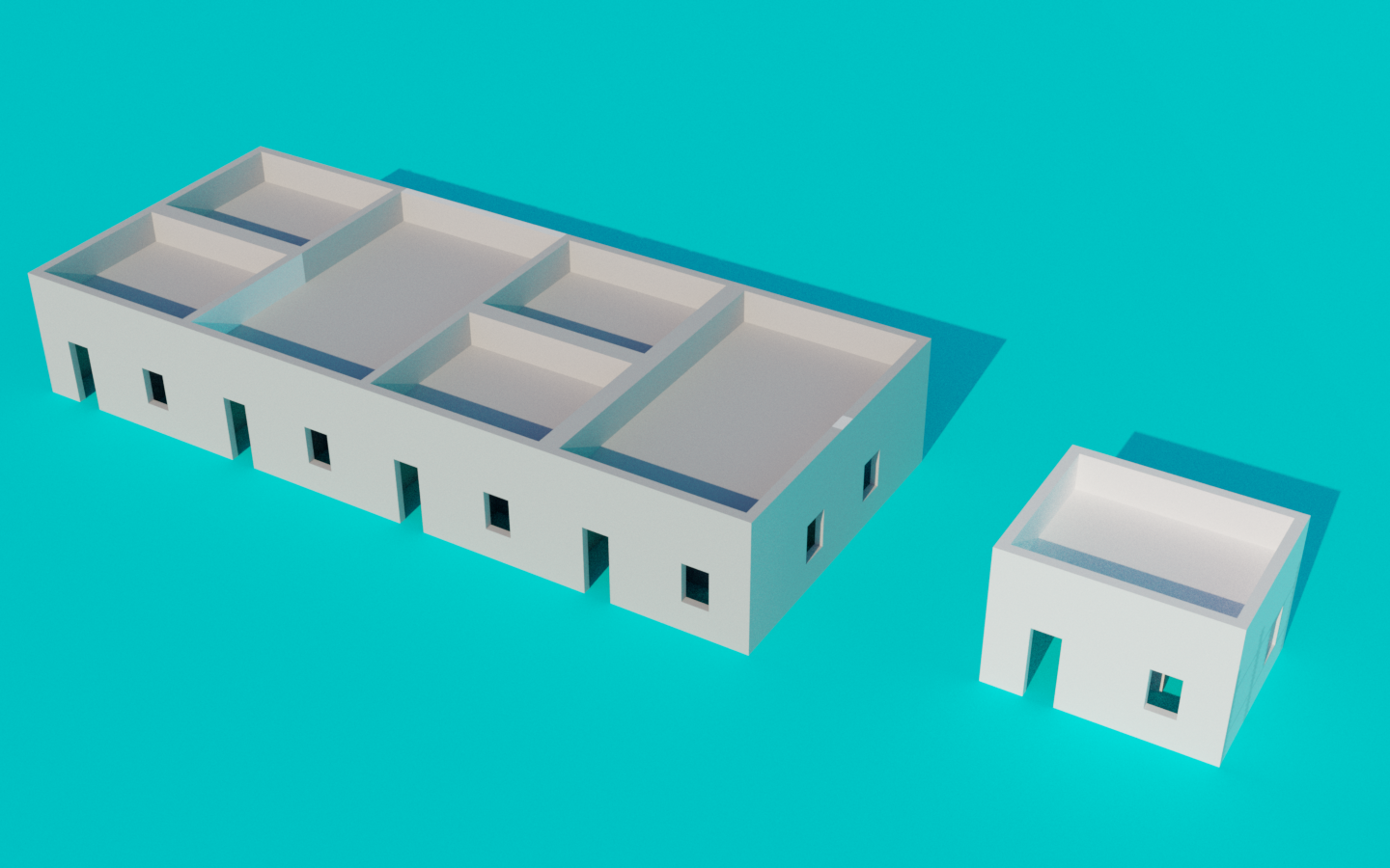 3D model to help illiterate users understand what we're talking about