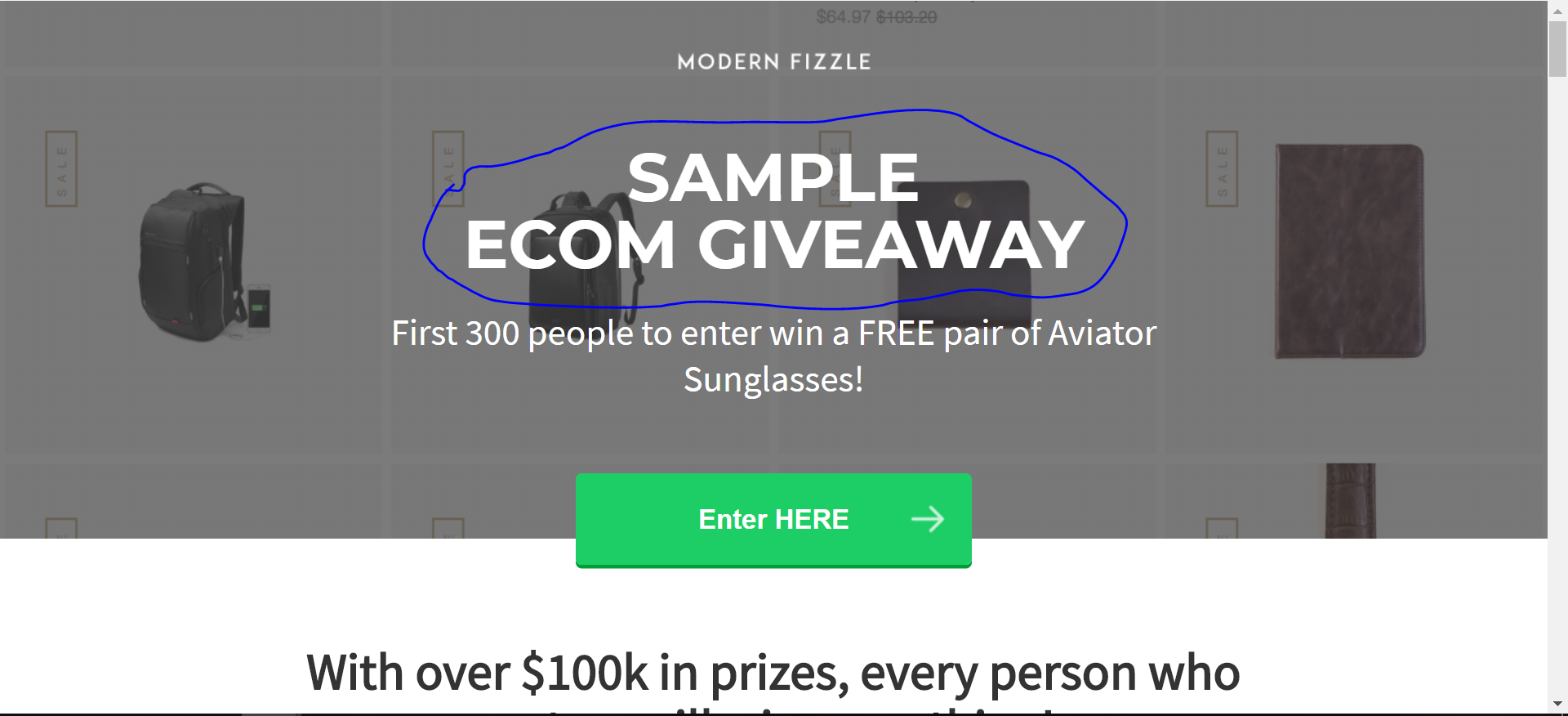 vyper giveaway - example, review