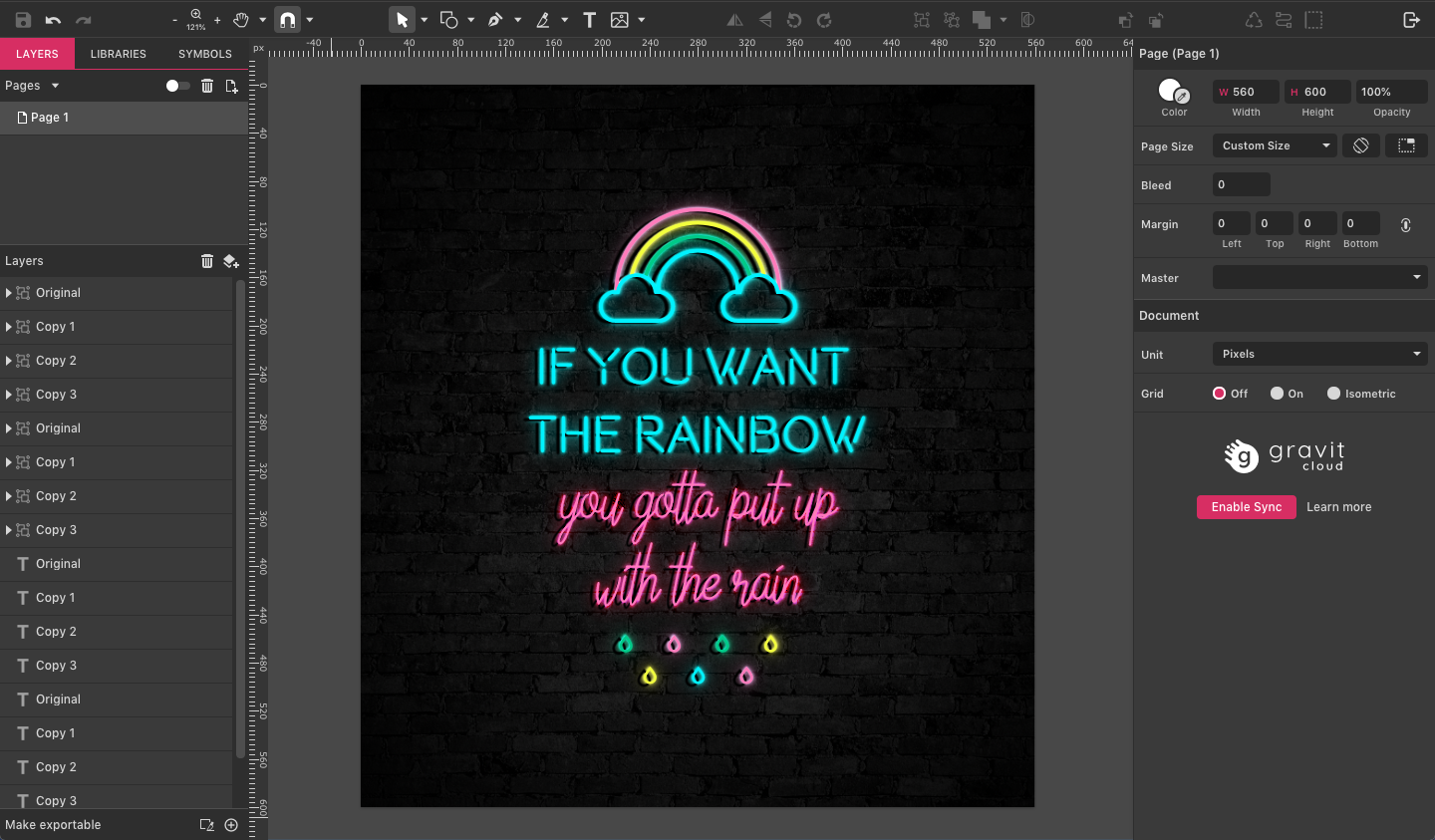 Learn How to Create a Neon Sign Effect with Gravit - Gravit