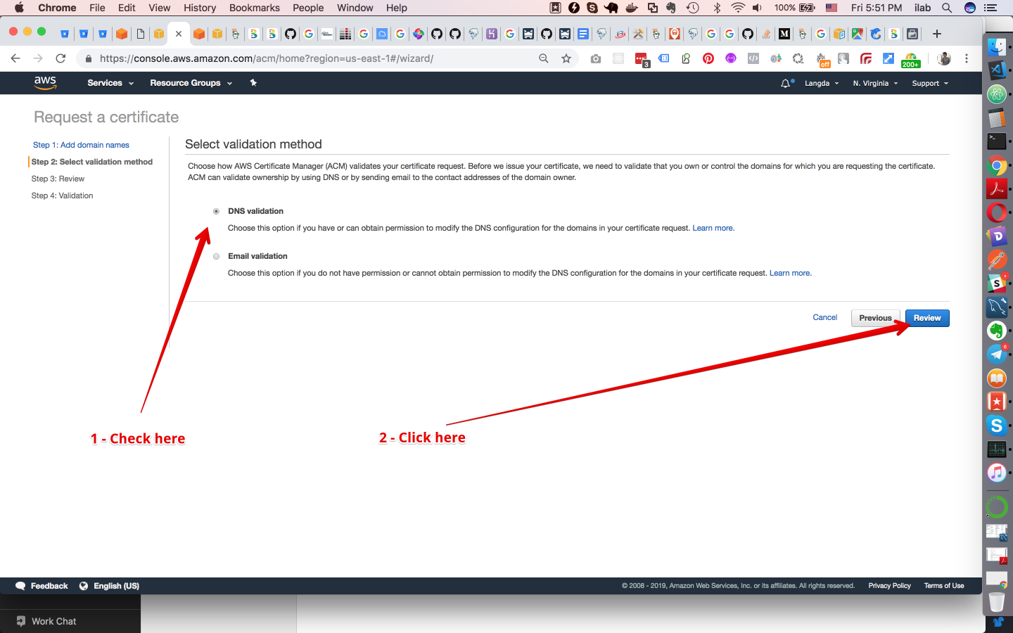 How to host static website with https using amazon s3