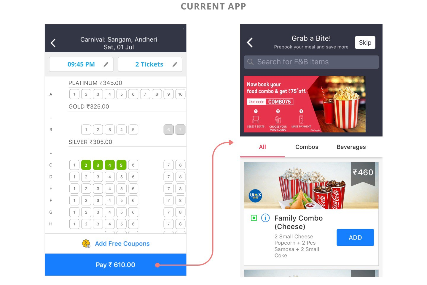 Bookmyshow Ux Case Study A While Ago I Got An Opportunity To Do By Danish Ahmed Prototypr