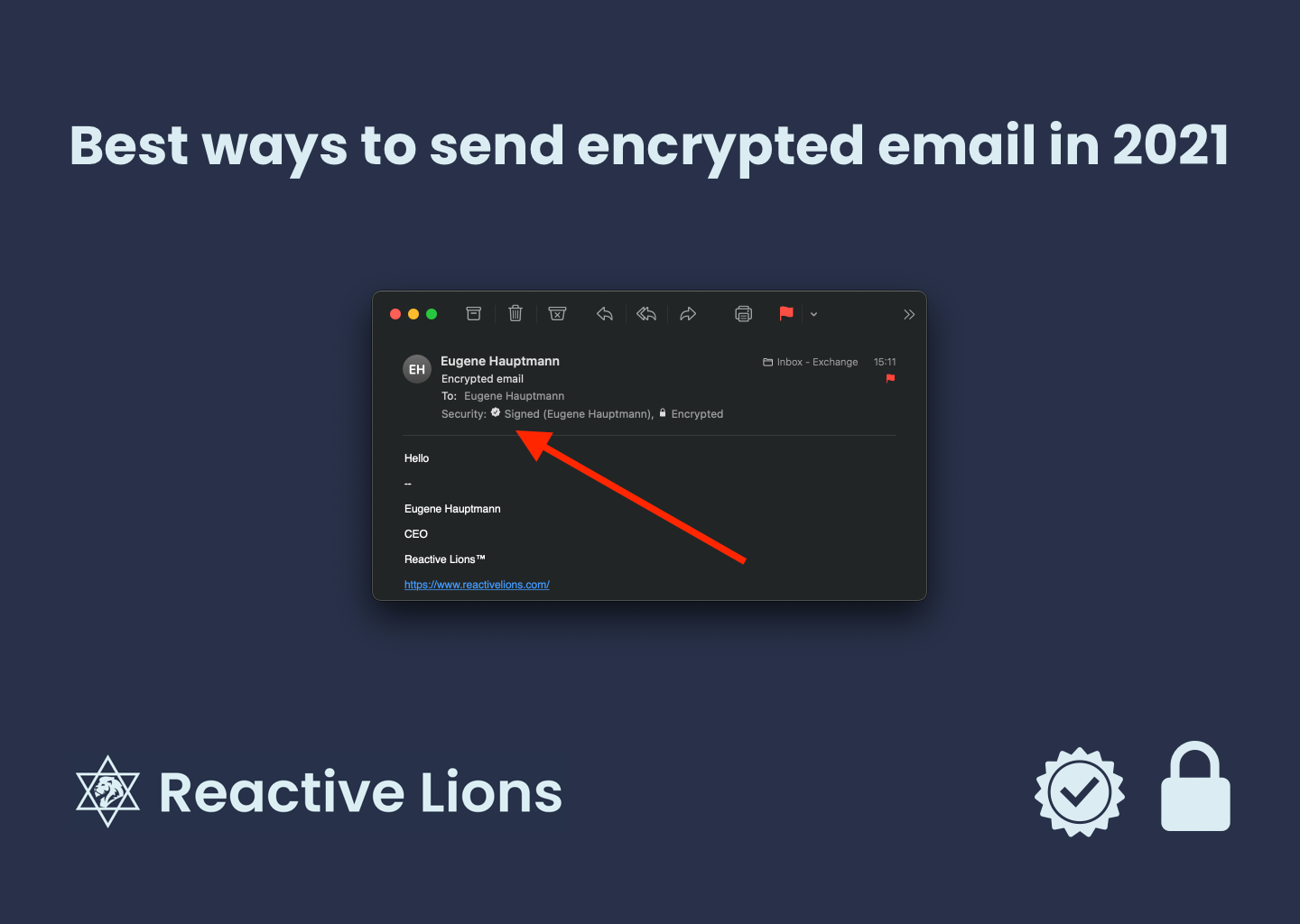 Best ways to send encrypted email in 2021