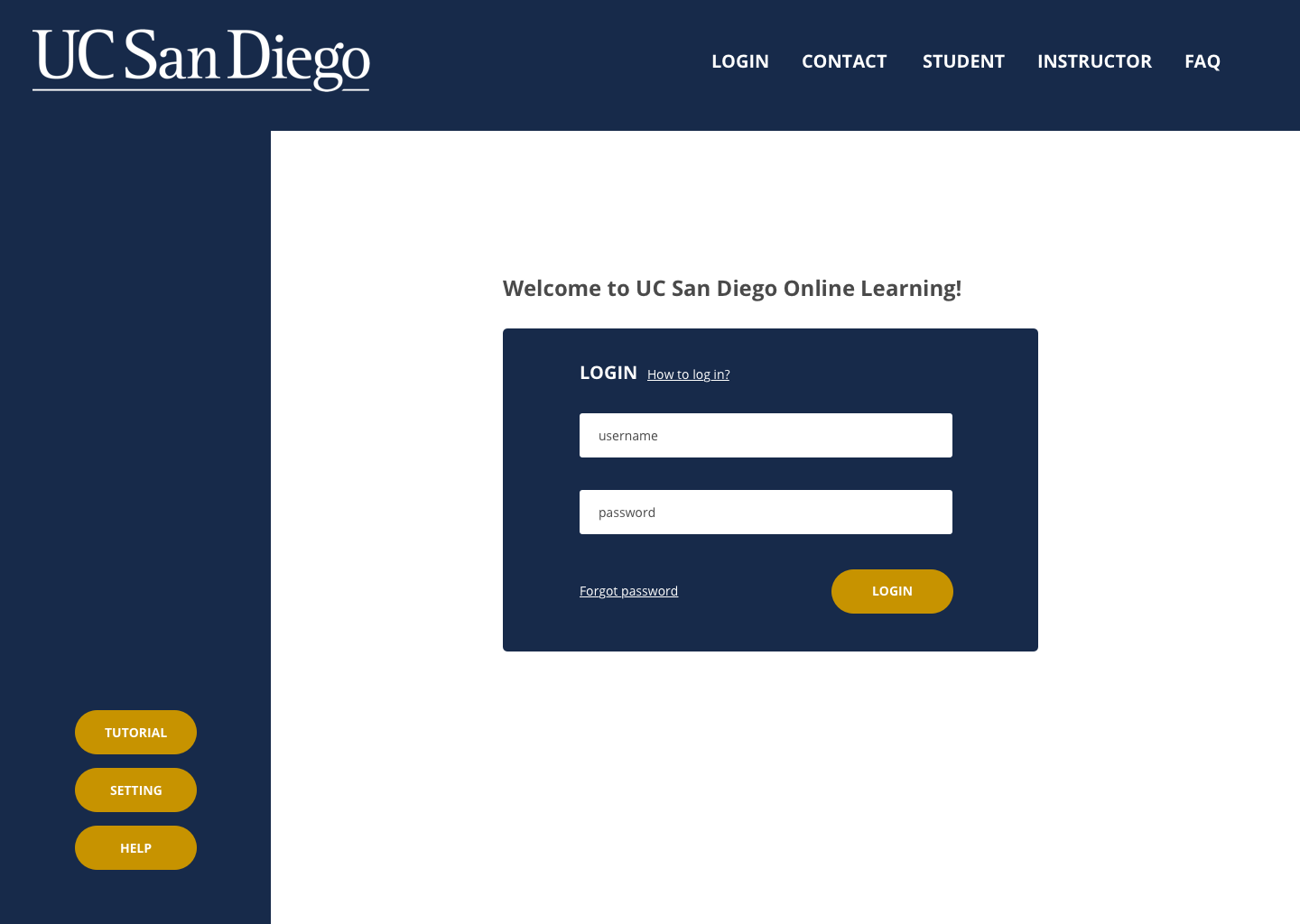 A Case Study for UCSD Extension Blackboard - Jasmine Lin