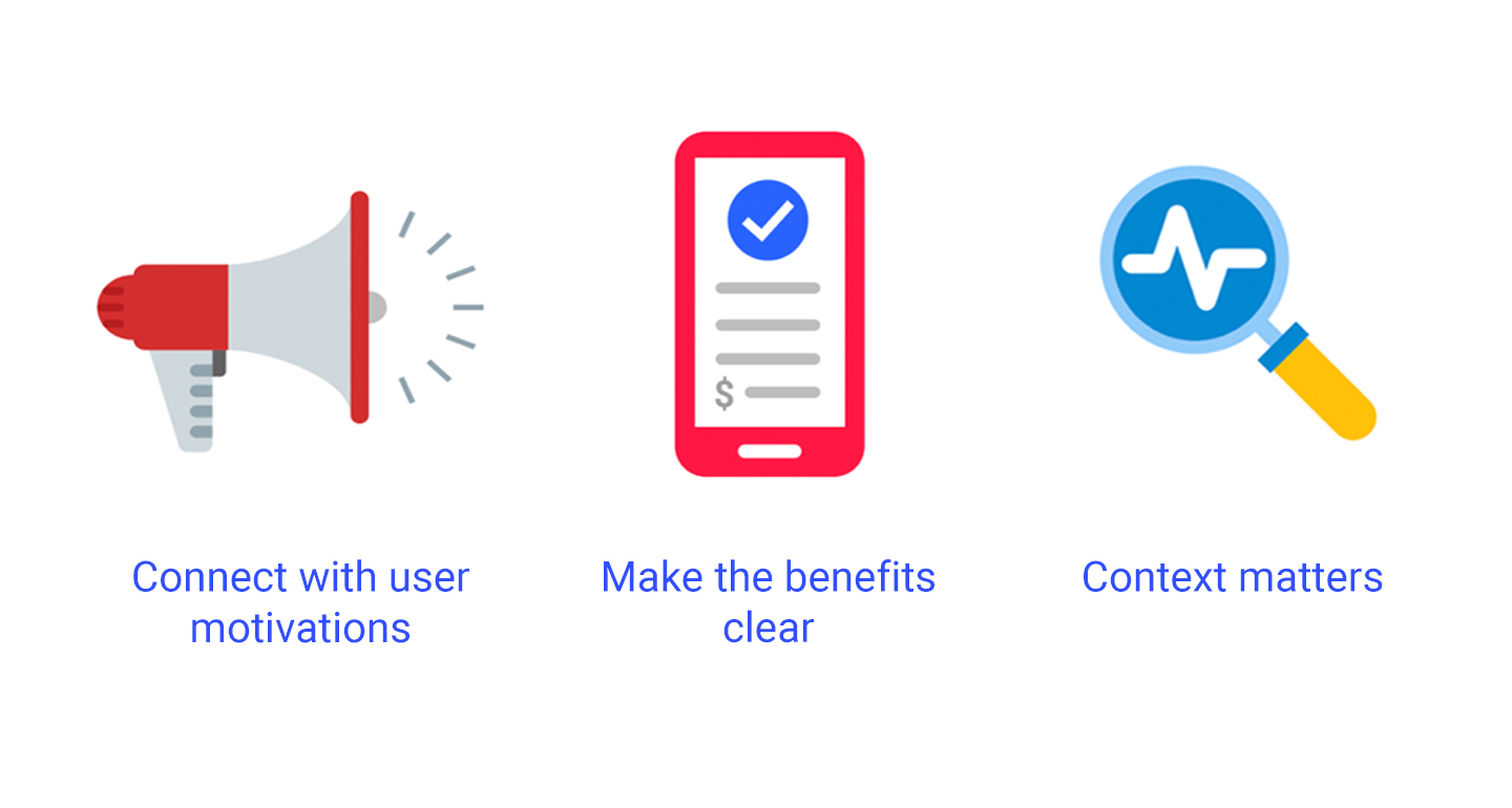 Using behavioural economics to convey the value of paid app