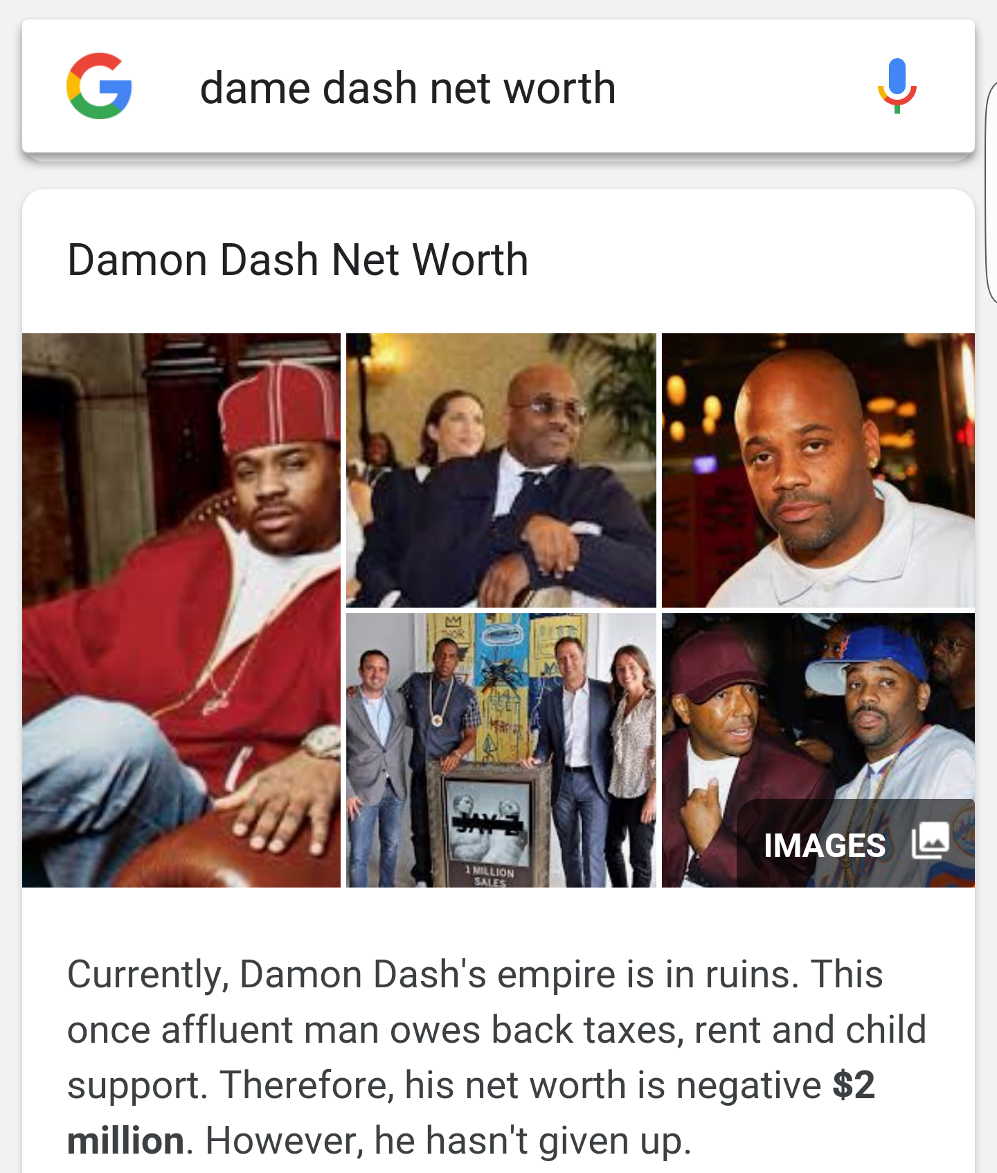 Don't Be the Damon Dash of Your Own Roc-A-Fella Records