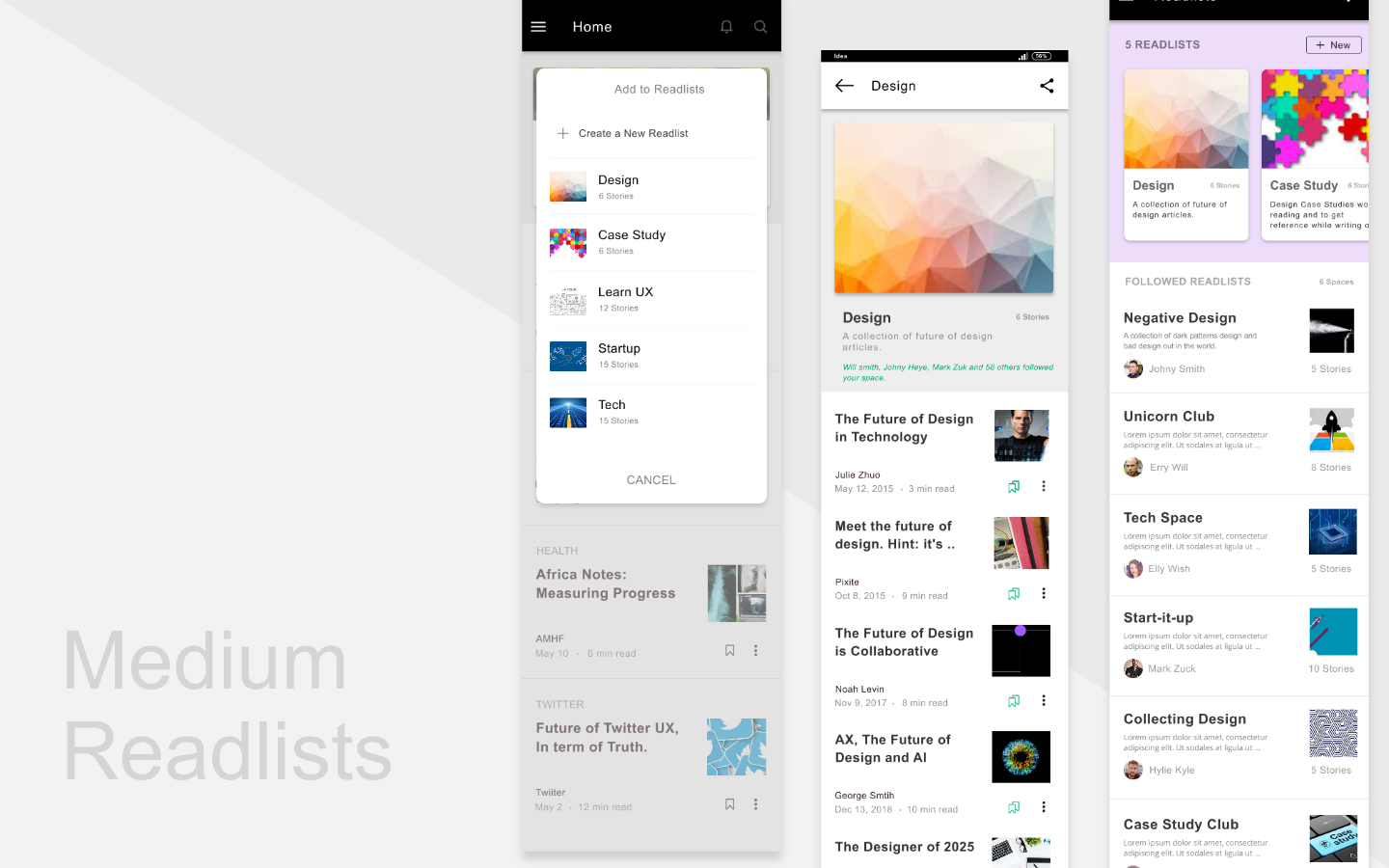 Add To Favorites a medium feature to create readlists just like playlists in