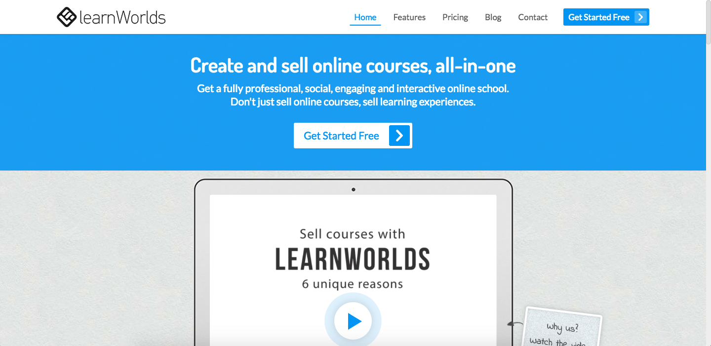 Comparison of Teachable, Udemy, Thinkific, LearnWorlds