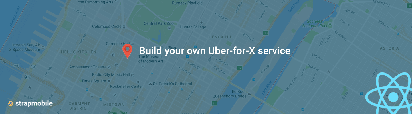 Now build your own taxi service in no time with React Native!