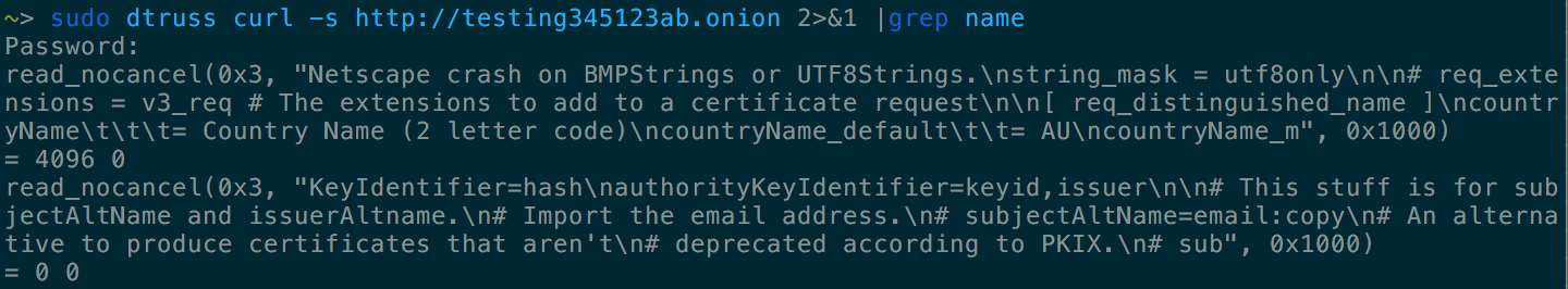 The unexpected difficulties of connecting to a Tor hidden