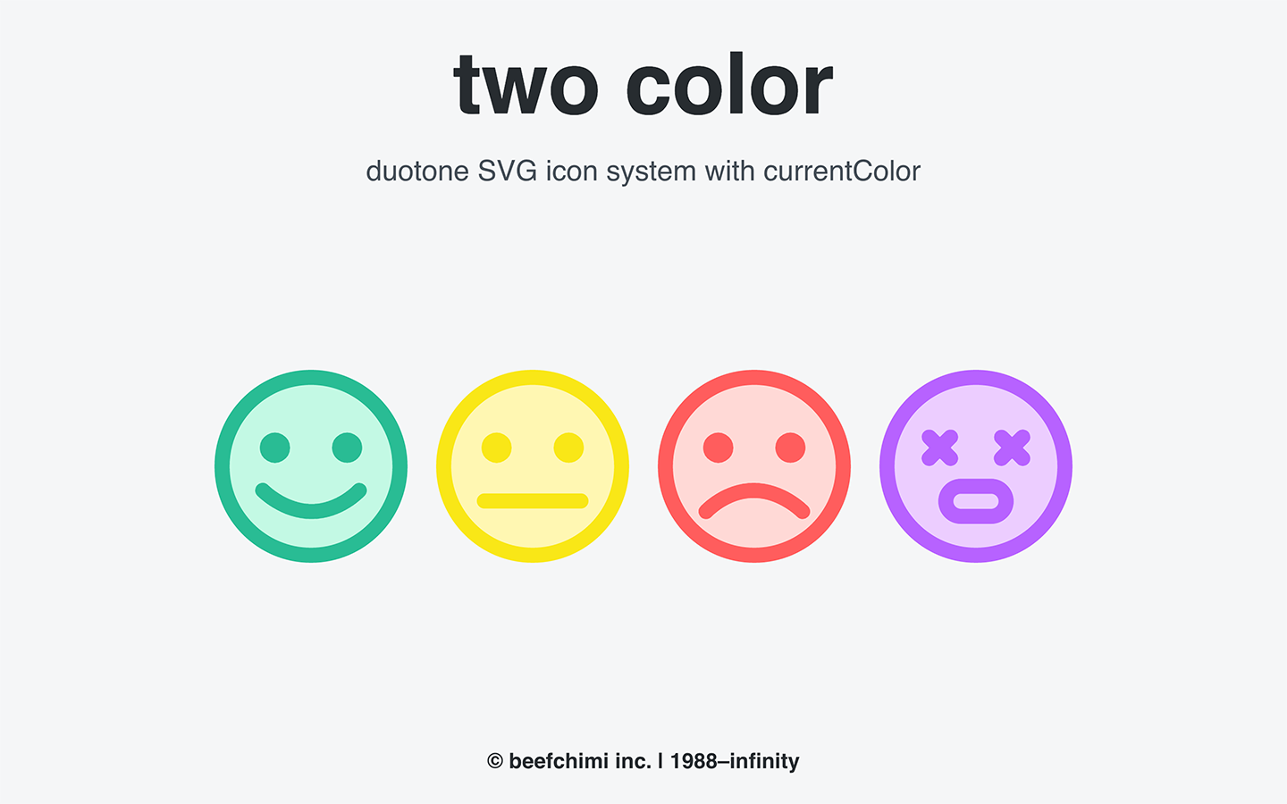 Responsive, multicolor SVG Icons - Shopify UX