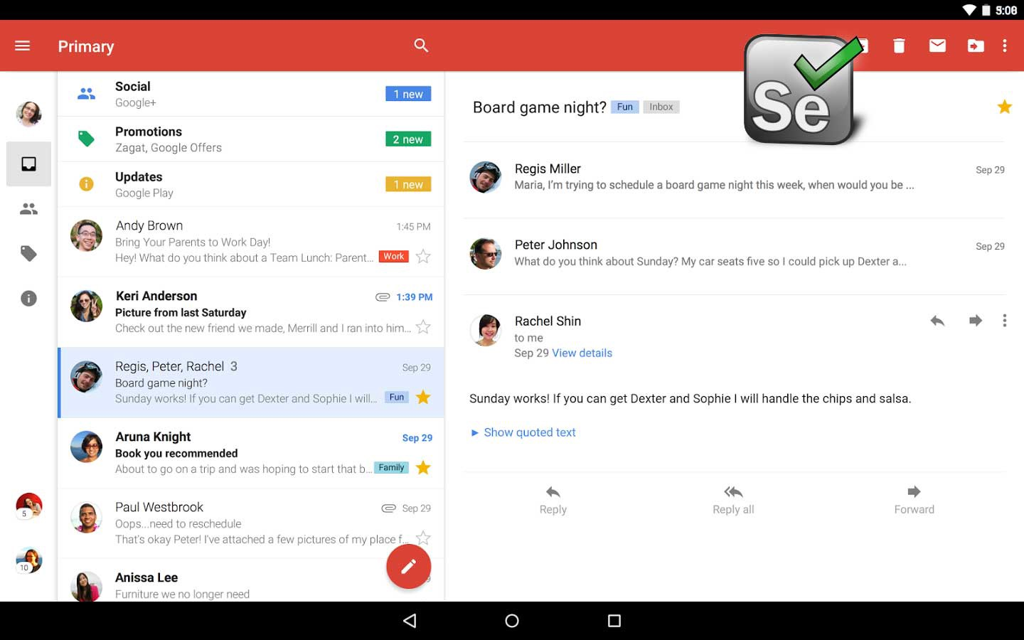 Develop a Gmail autoresponder by using Python Selenium