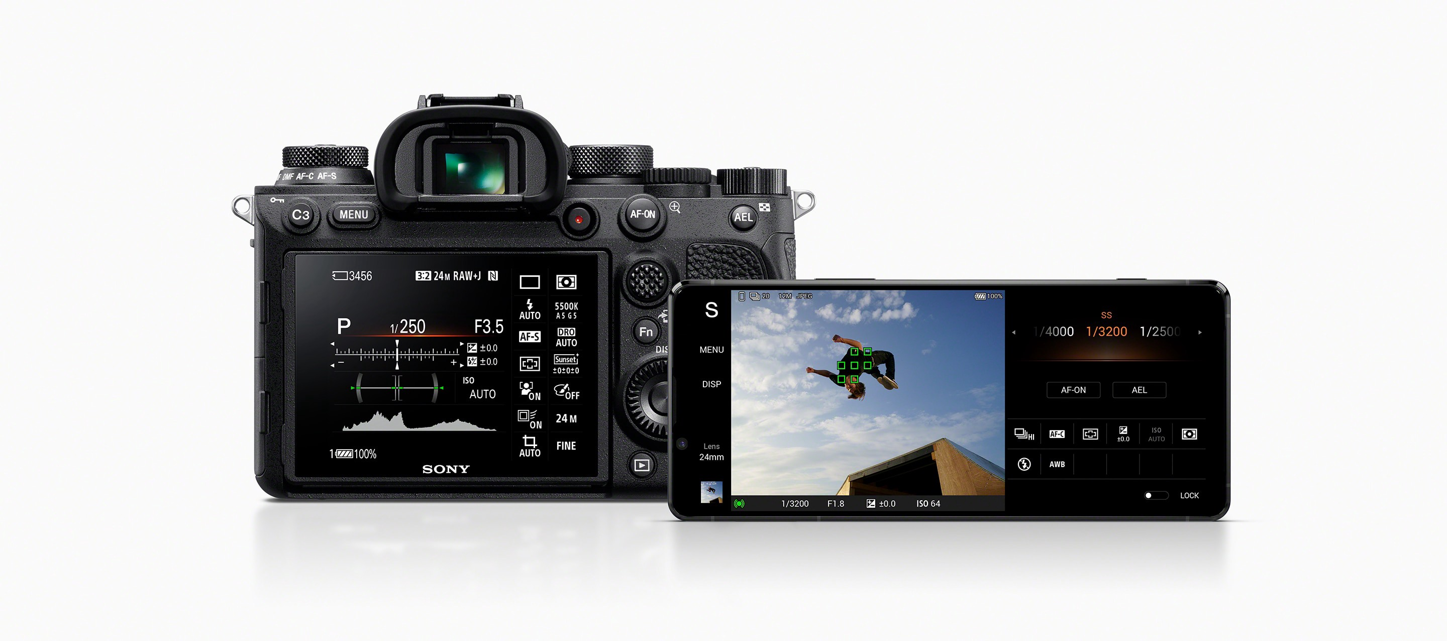 Image result for sony xperia 1 ii camera