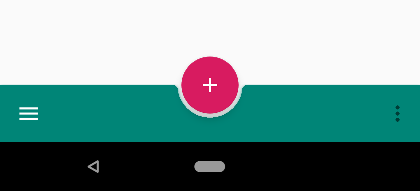 Implementing BottomAppBar I: Material Components for Android
