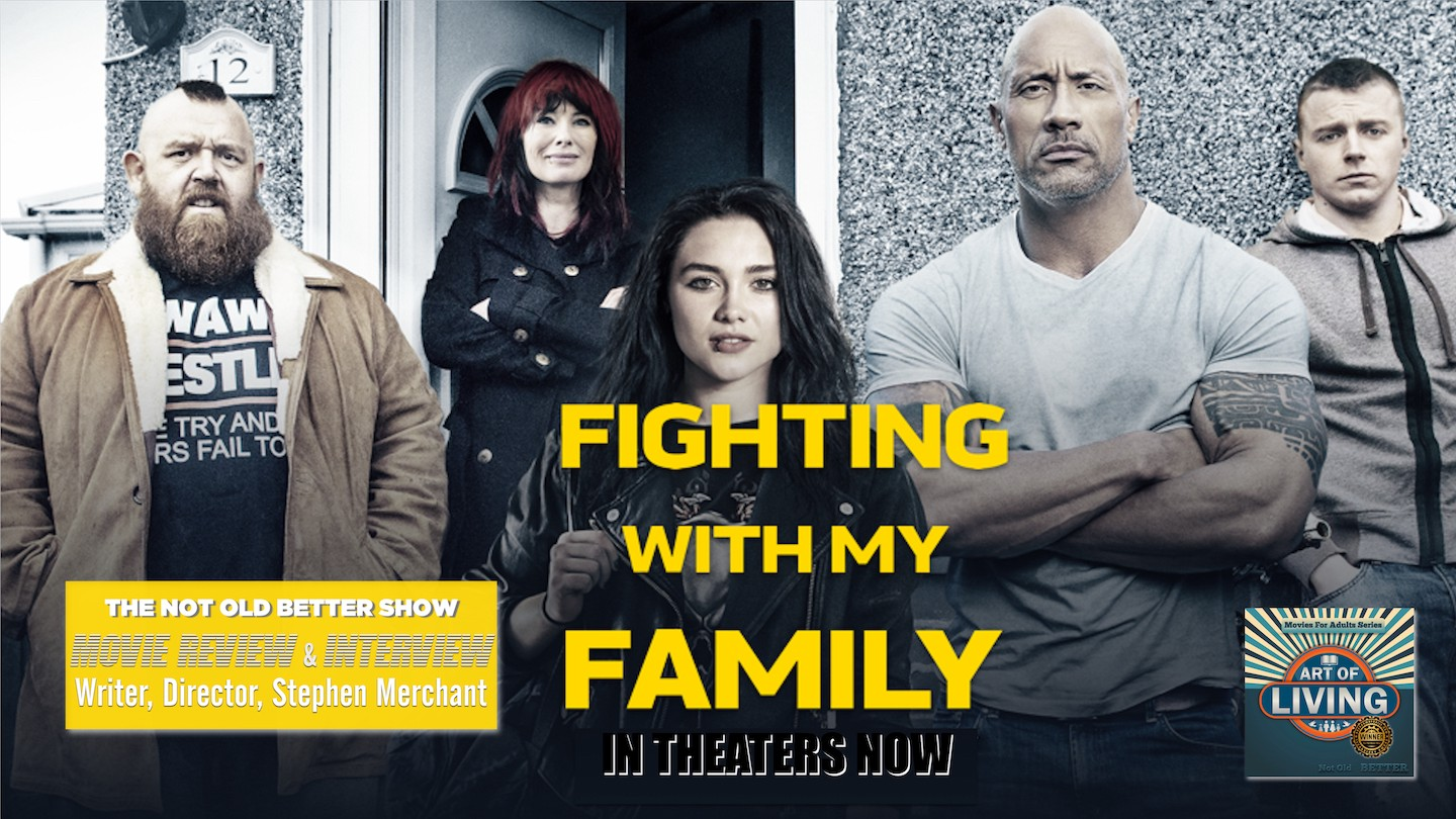 Movie Review Interview Fighting With My Family S Stephen Merchant By The Not Old Better Show Paul Vogelzang Medium