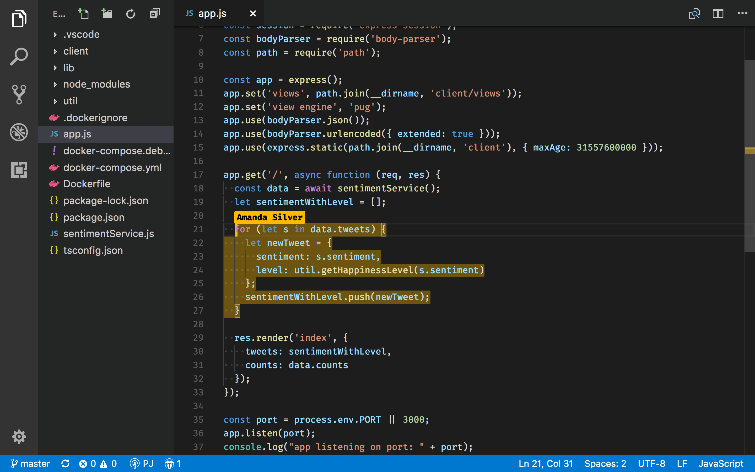 Visual Studio Code Live Share