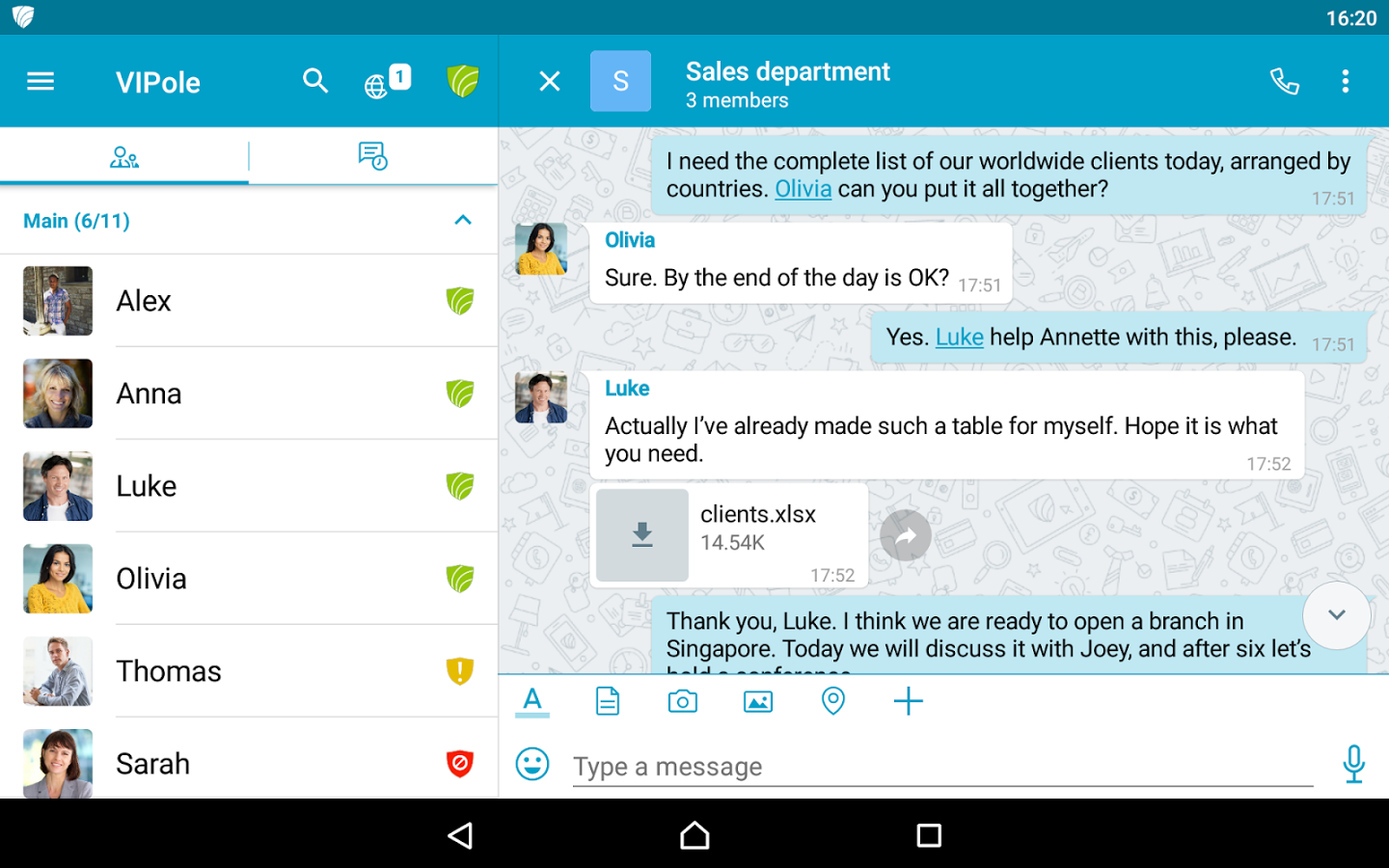 Secure Messaging Scorecard: a thorough review of top