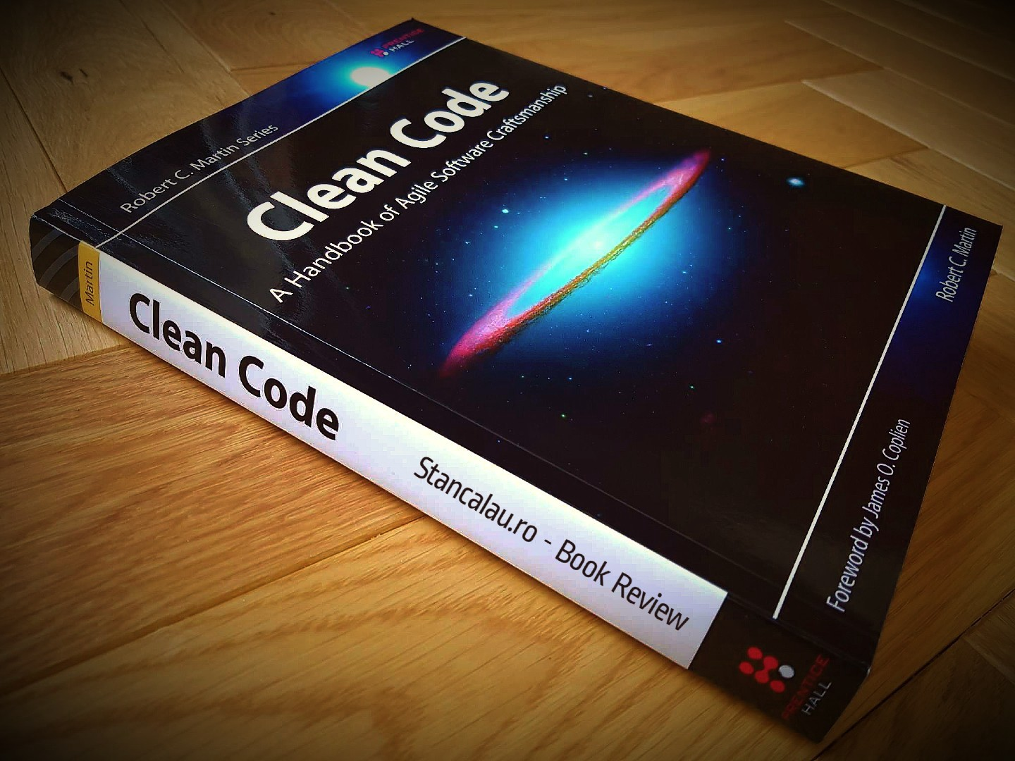 Clean Code: A Handbook of Agile Software Craftsmanship Book — book for those who want to be professional in programming