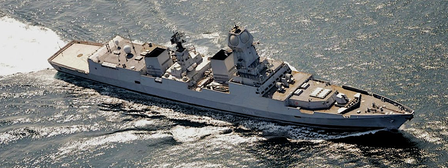 Indian Navy Kolkata Class Destroyers - Indo-Pacific Geomill - Medium