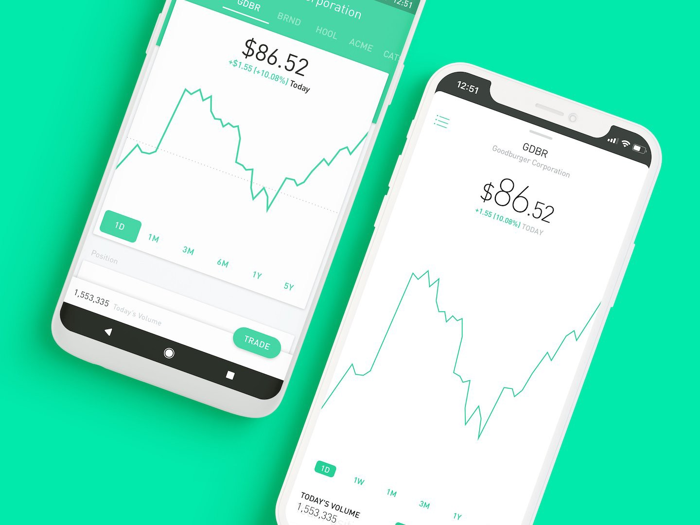 Thickness Commission-Free Investing  Robinhood