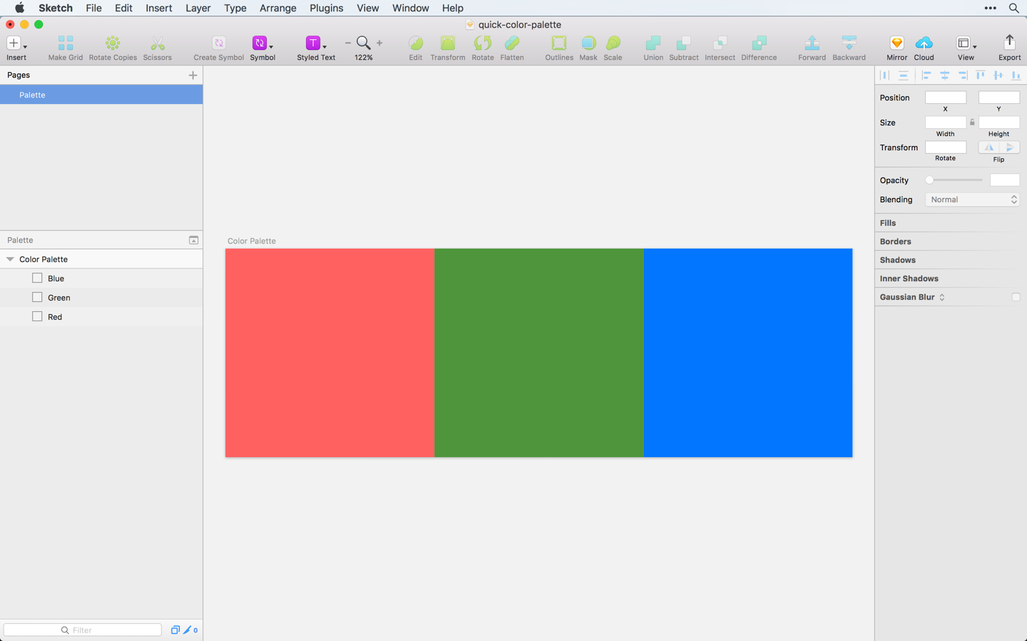 A Simple Trick For Creating Color Palettes Quickly Sketch